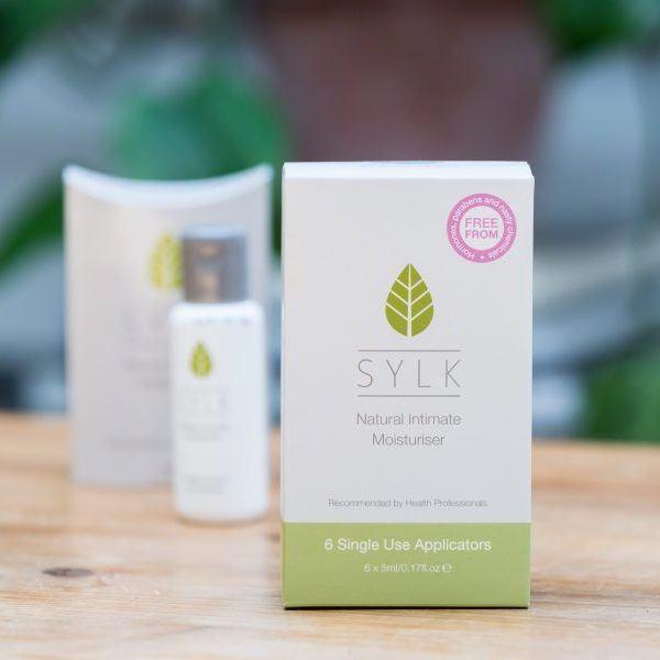 Sylk Natural Intimate Moisturiser box
