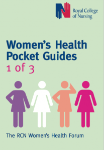 Royal College of Nursing Women's Health Pocket Guide Front Page