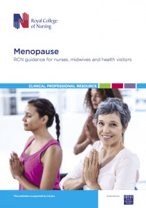 The Royal College Of Nursing-Menopause-RCN_guidance_for_nurses_midwives_health_visitors FRONT-PAGE