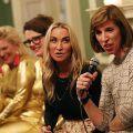 Dr. Louise Newsome, Meg Matthews and the Scummy Mummies on the Talk Menopause panel