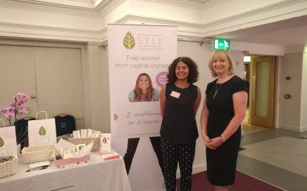 Nicola from Sylk with Kathy Abernathy